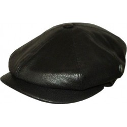 City Sport Flat hat - Leather