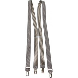 Patterned Braces - Grey