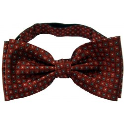 Bow tie with squares