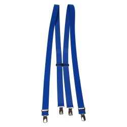 Cobalt blue braces