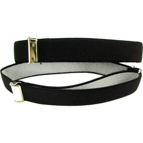 1 pair of black sleeve holders
