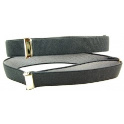 1 pair of dark grey sleeve holders