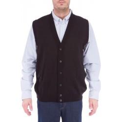 Elkjær Button Sweater Vest - Black