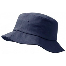 Dark grey buckethat