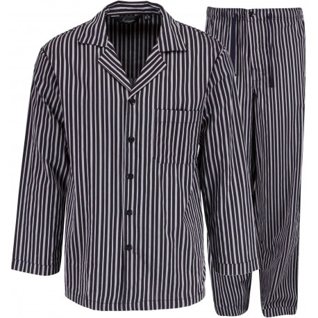 Ambassador pajamas - Grey striped