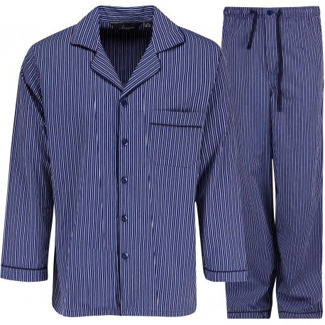 Ambassador pajamas - Blue / White