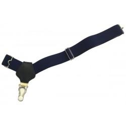 Dark blue sock suspenders
