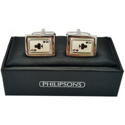 Cufflinks - club of spades