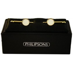 Dress Studs - Gold / Mother of pearl