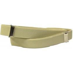 1 pair of beige sleeve holders
