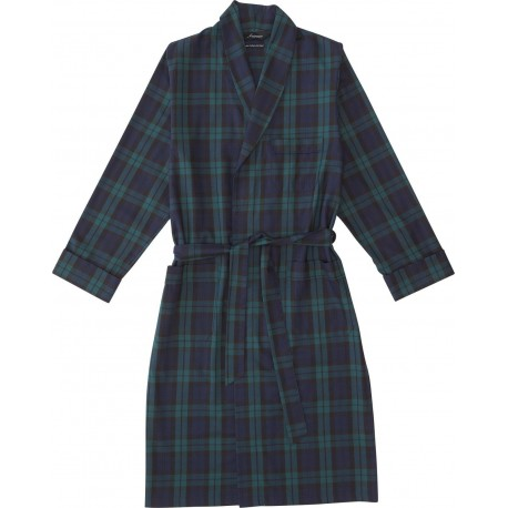 Thin bathrobe with wool for men from Ambassador