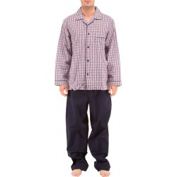 Checkered poplin Pyjamas