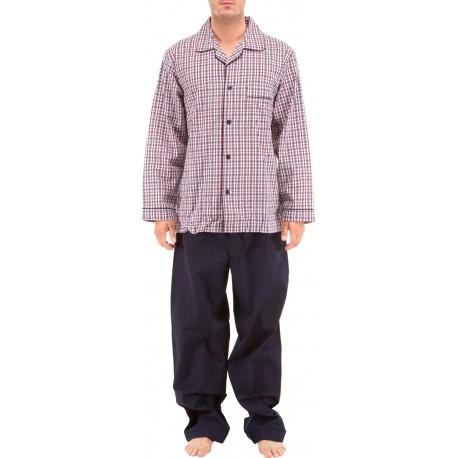 Checkered poplin Pyjamas