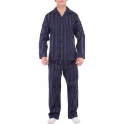 Ambassador pajamas - Blue-striped