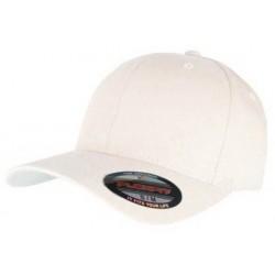 White Flexfit Cap