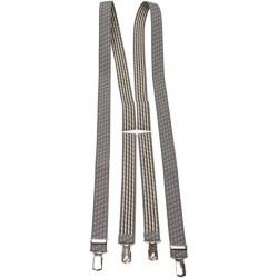 Patterned Braces - Grey