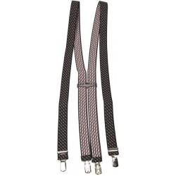 Patterned Braces - Black