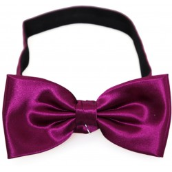 plum colored bow tie