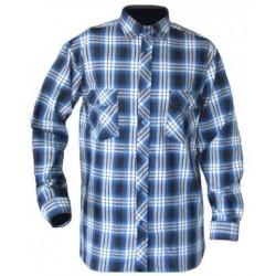 Checkered work shirt