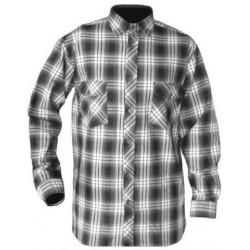 Checkered work shirt