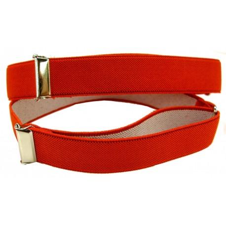 1 pair of red sleeve holders