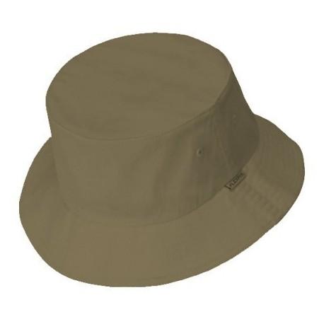 Dark grey buckethat