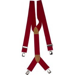extra wide red braces