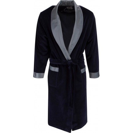 Ambassador satin robes - Blue