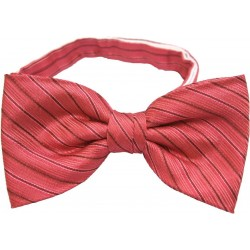 Bow tie with squares - Red