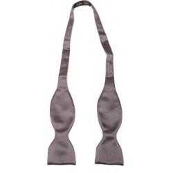 Self-tie bow tie - Dark grey