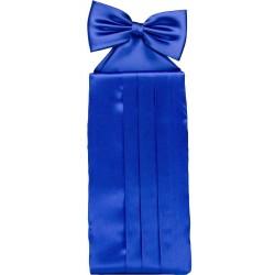 Cobalt blue cummerbund