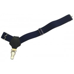 Dark blue sock suspenders