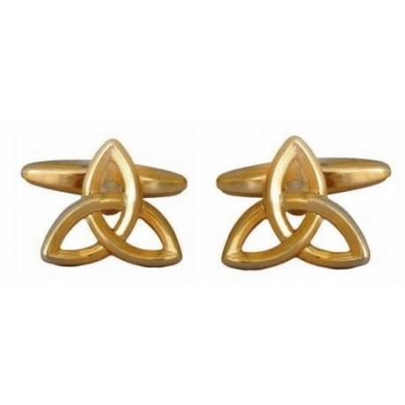 Dalaco cufflinks - Trinity knot