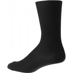 Men's socks without elastic - Black
