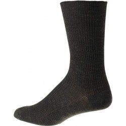 Men's socks without elastic - Dark Grey