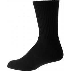 Thick black mens socks with cotton