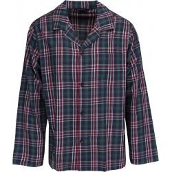 Schiesser pajamas for men - Checkered Green